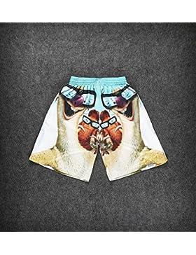 Axiba Pantalones Cortos de Playa de los Hombres de Pantalones Cortos Boxers Deportivos de Natación Running Surf...
