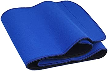 Bewitching Unisex Xolo Gym 9902 Slimming Belt/Waist Trimmer Belt/Fat Reduce Belt Blue