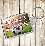Walsall's Biggest Fan Fußball Schlüsselanhänger–Geburtstag Geschenk/Strumpffüller