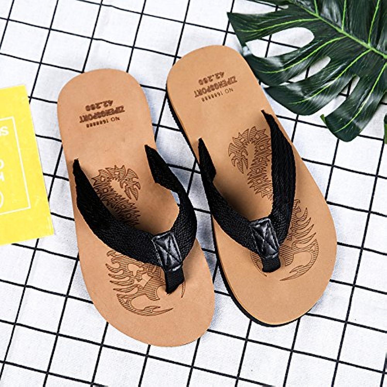 BAOZIV587 Zapatillas de viaje para el aire libre, para hombre, de verano, de espuma desodorante, cómodas, para...