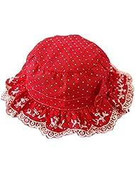 Sombrero del florista del arco de la muchacha gorras de camionero Sombrero del florista del arco gorros bordados