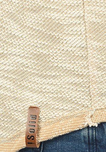 555f5377115f ... SOLID Flock Herren Kapuzenpullover Hoodie Sweatshirt aus 100% Baumwolle  Ermine (5944)