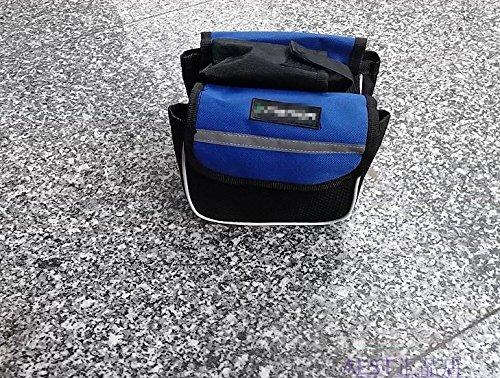XY&GKDas Gebrauchsmuster besteht aus einem Sattel einer Tasche ein Strahl ein Fahrrad den Geldbeutel und ein Berg Fahrradtasche, machen Ihre Reise angenehmer Blue