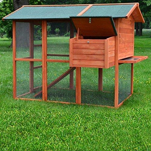 Premium Hühnerhaus Hühnervoliere , Hühnerstall , Hühnerhaus , Hühnerfarm , Entenstall - 4