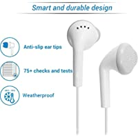OGTECH OG TECH YS Earphones with Ultra Bass & Dolby Sound 0.33mm Jack for All Samsung/Anroid/ iOS Devices - (White)