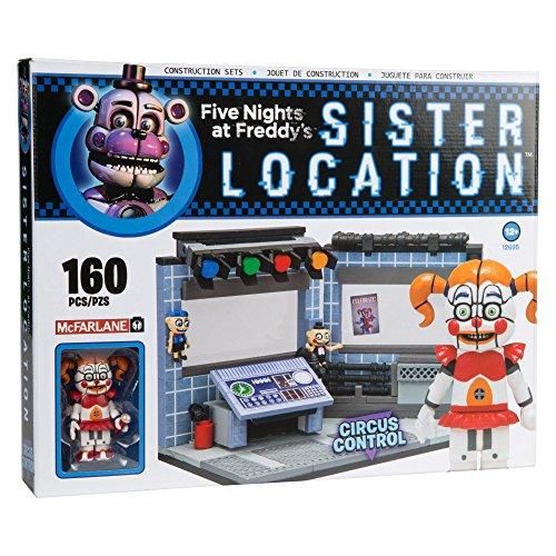 Image of McFarlane Toys Five Nights At Freddy's Circus Control Construction Building Kit