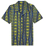 Candow Look Chemise casual - african?wax -oval pattern printed - Homme