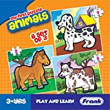 Frank - 10208 Animals Puzzle For 3 Year Old Kids And Above