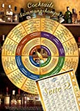 Cocktails Stimmungskompass (2018) – Welcher Cocktail soll es sein? Entscheiden Sie nach Stimmung, Anlass, Geschmack und FarbeMit Rezepten und Tipps zum Selbermachen (DINA4, laminiert)