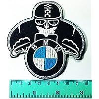 BMW Motorrad - Parche para camiseta de motocicleta, para coser, planchar con el logotipo