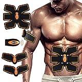 SUPAREE Masajeador eléctrico de músculo cinturón eléctrico masajeador ABS, Abdominal, Abdominal, Entrenador de Cintura para Hombres y Mujeres