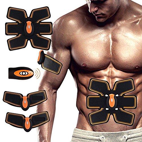 SUPAREE Regulador Muscular eléctrico ABS, Abdominal, Abdominal, Entrenador de Cintura para Hombres y Mujeres