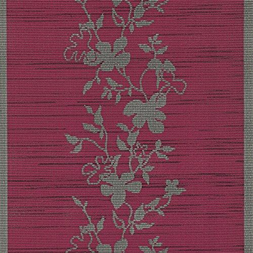 Miami Tischläufer Tischband Breite 40 cm Länge & Farbe wählbar Rot 40 x 150 cm