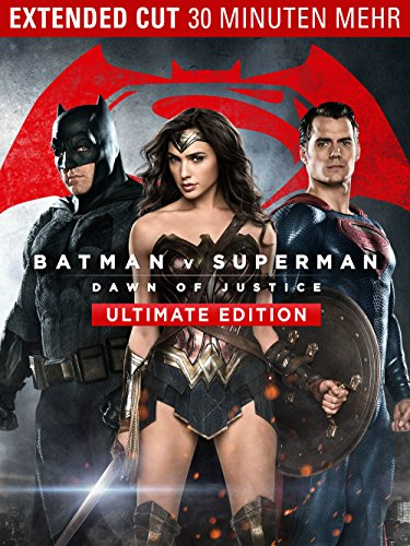 Batman v Superman: Dawn Of Justice Ultimate Edition (Batman Trilogie Kostüm)