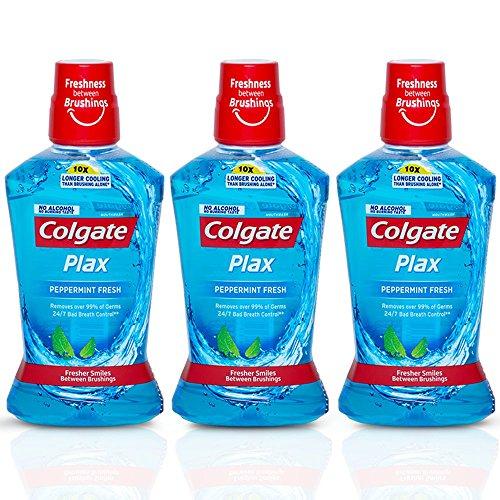 Colgate Plax Pepper Mint Mouthwash - 250 Ml (Buy 2 Get 1 Free)