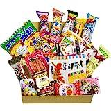 Boîte à doigts japonais Dagashi 20pcs Umaibo snack Gumi Pomme de terre à la crème Kitty chocolat avec AKIBA KING Autocollant