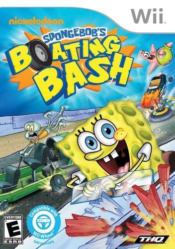 61Gx6JqxBkL - Spongebob Boating Bash (Wii) sports best price Review uk