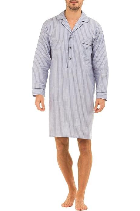 HisAndHers-Clothing - Camisón de popelina para hombre (100 ...