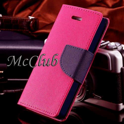 Nokia/Microsoft Lumia 535 Stylish Luxury Mercury Magnetic Classy Lock Diary Wallet Flip Cover by McClub  available at amazon for Rs.189