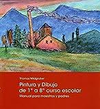 Pintura y dibujo de 1º a 8º curso escolar: Manual para maestros y padres