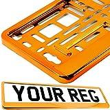 Taport® support pour plaque d'immatriculation pour n'importe quelle voiture, van, camion, remorque....