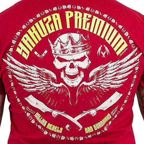 Yakuza Premium T-Shirt 2208 rot Rot