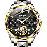 Swiss Brand Men's Luxury Watch Automatic Mechanical Self Winding Sapphire Crystal Tungsten Steel Business Dress Watches Gifts