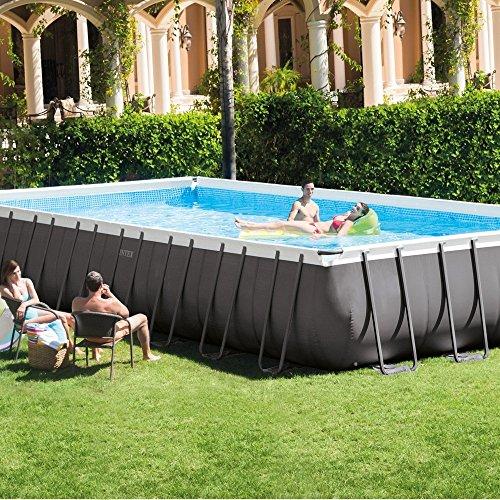 Intex Pool Set Ultra Metal 7,32 m x 3,66 m x 1,32 m