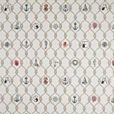Fabulous Fabrics Jacquard Gobelin Knoten - Creme -