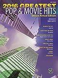 Greatest Pop & Movie Hits 2016: Easy Piano
