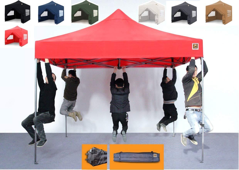 Gorilla Gazebo ® Pop Up 3x3m Heavy Duty Waterproof Commercial Grade Market Stall 4 Side Panels and Wheeled Carrybag… 1