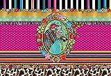 Komar Fototapete Melli Mello Zebra, 368 x 254 cm