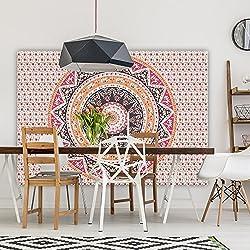 Premium calidad de Bohemia Mandala Tapestry por Varano–HD no-fading impresión Digital–claro patrones y colores vivos