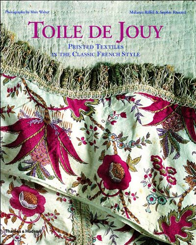 Toile De Jouy: Printed Textiles in the Classic French - Einfache Kommerzielle Kostüm