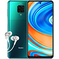 Xiaomi Redmi Note 9 Pro Smartphone 4G (6.67 Zoll, 6GB RAM, 64GB Speicher, 5020mAh, Quad Camera, NFC), tropical green…
