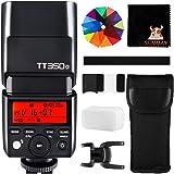 Godox TT350O Mini Cámara Flash 2.4G HSS 1 / 8000s TTL GN36 para Olympus Panasonic Cámaras Digitales sin Espejo 20 Filtro de c