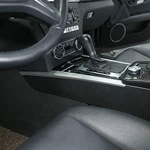 Abs Zierleiste Für Mittelkonsole Für C Klasse W204 C180 C200 2007 2013 Silberfarben Auto