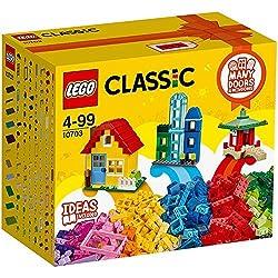 Classic - Kreativ-Bauset GebäudeDas LEGO® Classic Kreativ-Bauset Gebäude eröffnet dir unzählige Möglichkeiten, kreative und fantasievolle Bauwerke zu erschaffen. Mit diesen farbenfrohen und vielseitig nutzbaren LEGO Steinen ist fantasievolles Bauen u...