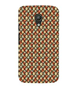 Ebby Printed back cover for Moto G2(Premium Designer case)