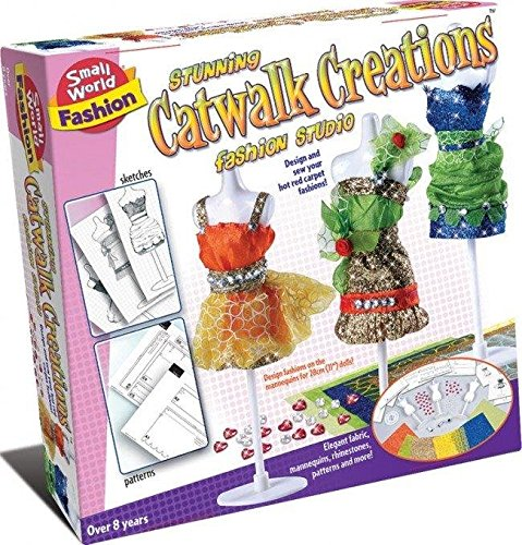 Create Your Own Stunning Catwalk Creations - Create fashion Set - Must Have Creative Easter Present Gift Fun Arts & Crafts Games & Toys Idea Age 8+ Girls Girl Child Kids Children