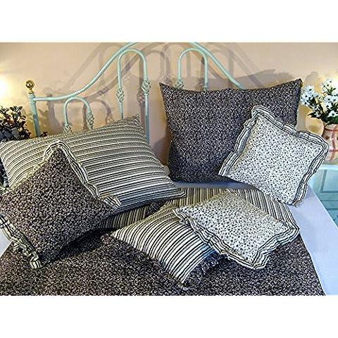 4piezas de ropa de cama (algodón satinado (B de 004), altböh Mische mano altböh Mische Colección Retro Patrón de 140x 200cm