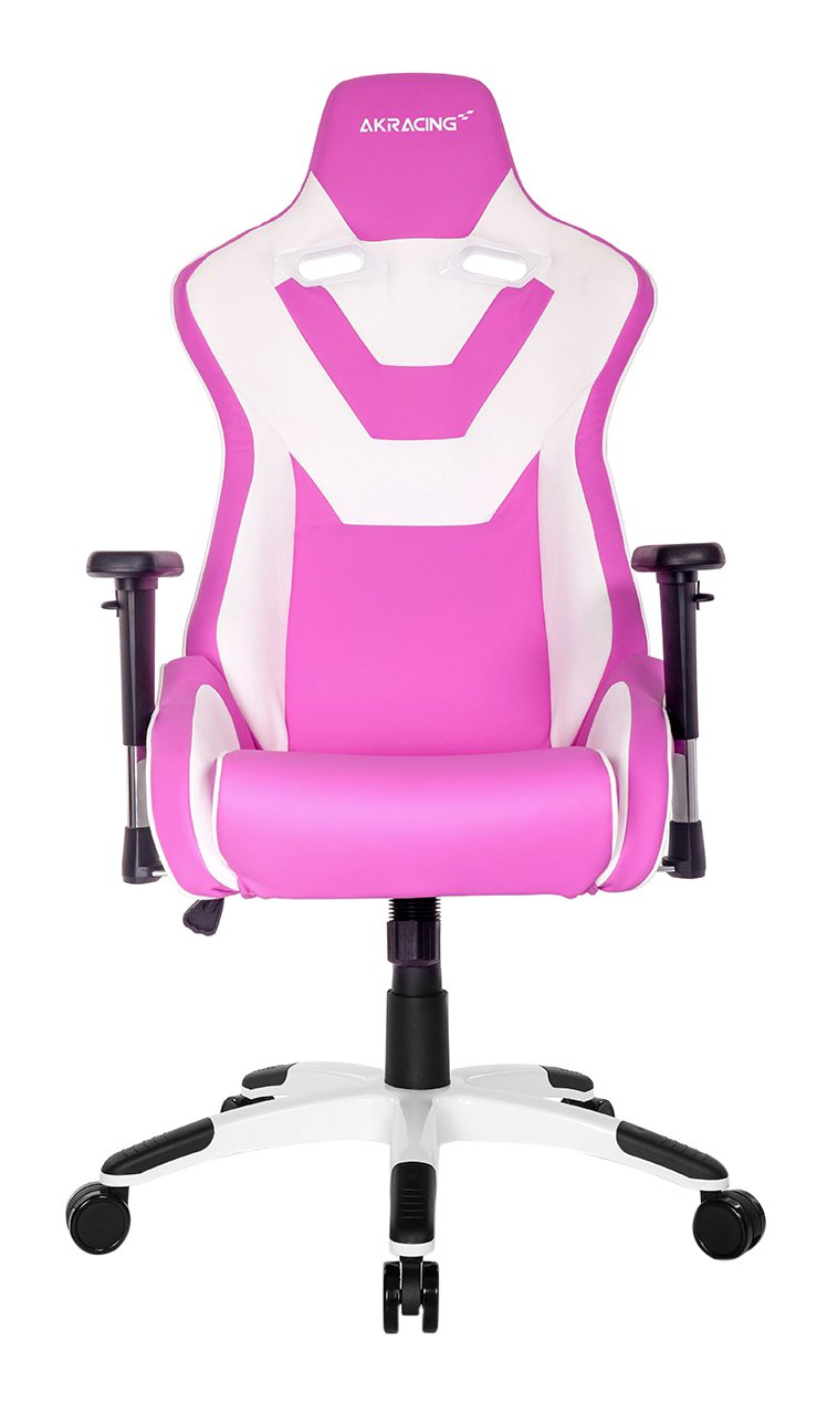 AKRACING Silla Gaming CP Rosa/Blanca
