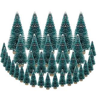 DECARETA-35-Stck-Knstlicher-Weihnachtsbaum-Mini-Grn-Tannenbaum-456585125cm-Naturgetreuer-Christbaum-fr-Tischdeko-DIY-Schaufenster-Grn