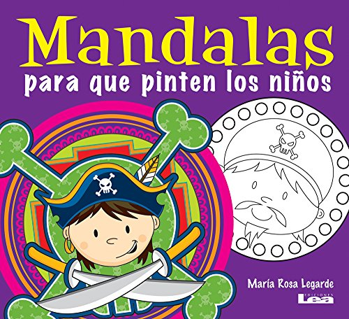 Mandalas Para Que Pinten Los Ninos por Maria Rosa Legarde