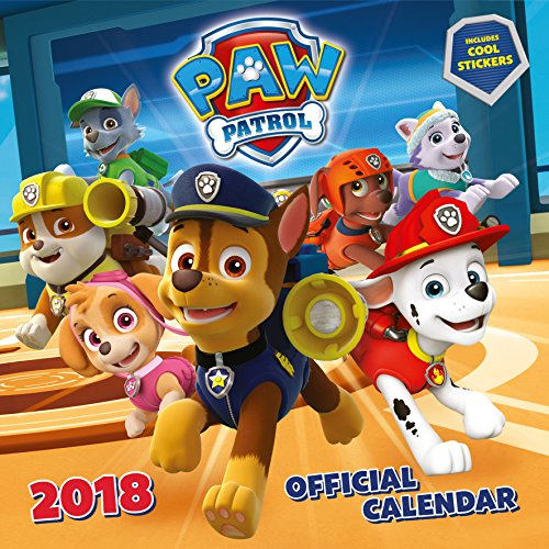 Produktbild Paw Patrol Official 2018 Calendar with Stickers - Square Wall Format (Calendar 2018)