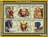 Mosambik 2435-2440 Kleinbogen 2002 Altägyptische Herrscher (Briefmarken für Sammler)