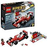 LEGO Speed- Lego Scuderia Ferrari Sf16 H Costruzioni Piccole Gioco Bambina 369, Multicolore, 75879