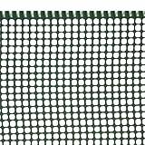 VERDELOOK Rete 5x5 Mini-Quadra Maglia Piccola Verde Dimensioni 0,5x25 m, Supporto Balcone