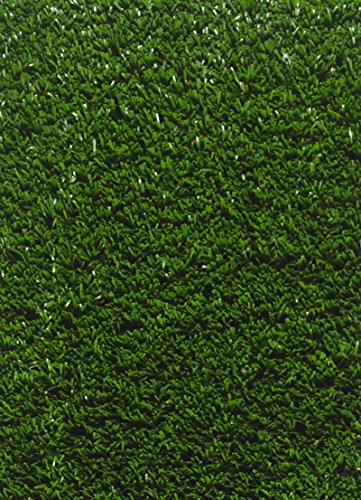 9mm Gr/ö/ße:200 x 350 cm Rasen Deluxe La Gomera Kunstrasen mit Drainagel/öchern Farbe:Gr/ün sehr einfach zu verlegen
