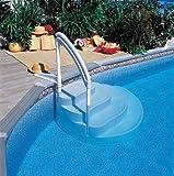 TOI - Piscina desmontable redonda modelo canarias + kit verano y tapiz - 640x120